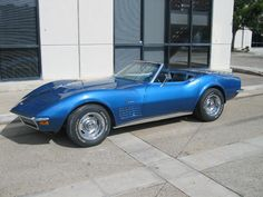 I want a 1970 LT1 350 Corvette Roadster. Mmmm...