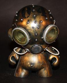 Aqua Robot Munny Custom | Artist: Harris Built
