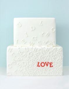A Wedding Cake Love Fest | onefabday.com