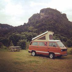 West coast camping