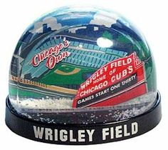 Chicago Cubs Wrigley Field Snow Globe by City Concepts | Sports World Chicago $6.95