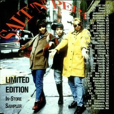 """For Sale - Salt N Pepa In-Store Sampler USA Promo  CD single (CD5 / 5"""") - See this and 250,000 other rare & vintage vinyl records, singles, LPs & CDs at http://eil.com"""