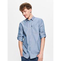 Gładka koszula z kieszenią, CROPP