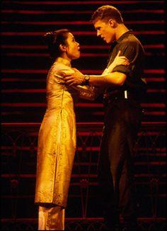 "Lea Salonga and Will Chase, ""Miss Saigon"" (2000)"