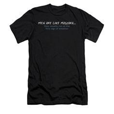 Men Like Mascara Adult Slim Fit T-Shirt