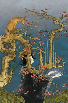 Sandman: The Dream Hunters #1 by by Neil Gaiman and P. Craig Russell     cover art by Yuko Shimizu