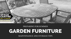 Maintenance and Storage Tips for Garden Furniture #storagetips #garden