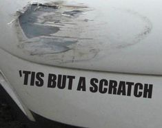 My Middle Finger Salutes You Funny Bumper by SkyhawkStickerDepot