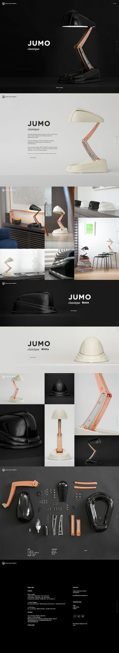 JUMO Classique lamp - a modern reedition of the historic model created in 1944…
