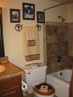 Western Bathroom Designs western cowboy what i want to do with our bathroom when we buy or