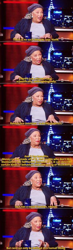 Toni Morrison on The Colbert Report