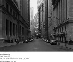 Thomas Struth - Photographs - Streets of New York City
