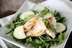 Lime and Ginger Tilapia Salad