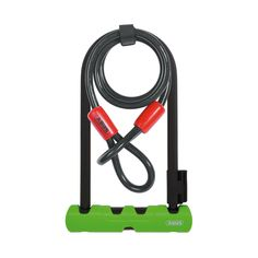Abus Ultra 410 D-Lock 230mm + Cable  #CyclingBargains #DealFinder #Bike #BikeBargains #Fitness Visit our web site to find the best Cycling Bargains from over 450,000 searchable products from all the top Stores, we are also on Facebook, Twitter & have an App on the Google Android, Apple & Amazon PlayStores.