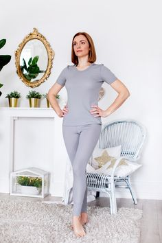 Ladies Thermal Underwear-Vest Long John White /& Black New Short //Long Sleeved