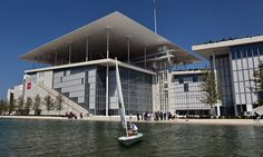 Stavros Niarchos Foundation Culture Centre by Renzo Piano Building Workshop in Athens, Greece