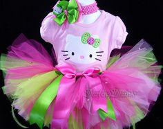 Hello Kitty outfit for party