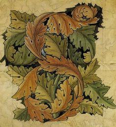 william morris-morris-acanthus