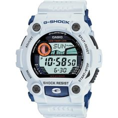 """Here is a cool set of new Casio G-Shock watches that are coming very soon. And they are pretty economical to bat. Aside from new styling that is still utterly """"G-Shock,"""" the G-Rescue series of watches is specially made to be very cold resistant. Casio G-shock, Casio Watch, Dream Watches, Cool Watches, Watches For Men, Wrist Watches, Women's Watches, Casio G Shock Watches, Sport Watches"""