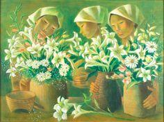 Anita Magsaysay Ho by Bobby Wong Jr. Arte Latina, Filipino Art, Outdoor Garden Bench, Cubist Art, Philippine Art, Philippines Culture, Minimalist Wallpaper, Artists Like, Fine Art