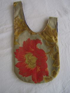 Japanese knot bag: free pattern and video tutorial available