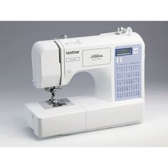 This white Brother cs5055prw sewing machine will have you completing those sewing projects with ease. The sewing machine features 50 built-in true stitches and comes with all the accessories you will need to make those fantastic creations.
