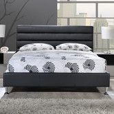 Found it at AllModern - Upholstered Panel Bed