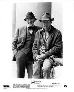 INDIANA JONES and the LAST CRUSADE photo print - HARRISON FORD, SEAN CONNERY | eBay
