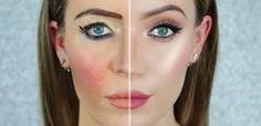 Dit is hoe je make-up goed aanbrengt (en hoe je dat vooral niet moet doen). Top video!
