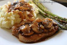 Pork-chop-mushroom-gravy - I will make in crockpot.