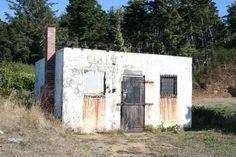 Old jail in Port Orford, Oregon
