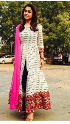 Minus pink duppata More eqlema Anarkali Dress, Pakistani Dresses, Indian Dresses, Indian Outfits, Lehenga, Sarees, Churidar Designs, Indian Attire, Indian Wear