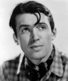 James Stewart in a publicity photo for Rose Marie  (W.S. Van Dyke, 1936), his second screen performance.  WWII II and Korean War vet