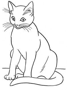 57 Mejores Imágenes De Dibujos Para Colorear Drawings Of Cats