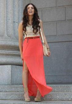 Summer Maxi Skirt Style