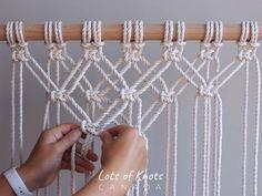 DIY Macrame Tutorial - Starting Your Work! Overlapping Square Knot Pattern - You. - DIY Macrame Tutorial – Starting Your Work! Overlapping Square Knot Pattern – You… – – - Macrame Design, Macrame Art, Macrame Projects, Macrame Knots, Macrame Bracelets, Loom Bracelets, Micro Macrame, Friendship Bracelets, Macrame Square Knot