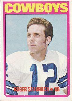 1972 Topps - Roger Staubach Rookie Card - Cowboys
