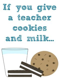 Free Printables for Teacher Appreciation Week {If you give a teacher a...} - Crazy for Crust