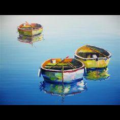 Rowboat VI, Edward Park; artist from Naples, FL