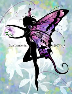 Flower Fairy by Liza Lambertini