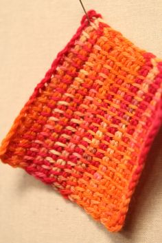 These are behind the scenes photos from the video shoot for Interweave Crochet Presents: Tunisian Crochet with Dora Ohrenstein.