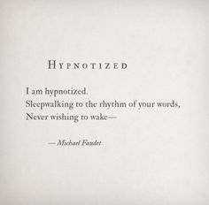 Hypnotized by Michael Faudet Follow him here