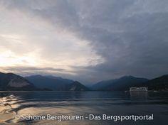 Es wird Abend über dem Lago Maggiore, Piemont, Italien - Foto: Mario Hübner