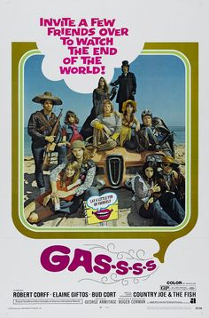 Directed by Roger Corman. With Bob Corff, Elaine Giftos, Bud Cort, Talia Shire. A gas is let loose upon the world that kills anyone over 25 years old. Talia Shire, 1970s Movies, Vintage Movies, Movie Poster Art, Film Posters, Bud Cort, Tea Gift Baskets, Cindy Williams, Roger Corman