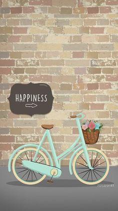 Imagem de wallpaper, happiness, and bike