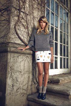 Helena Bordon: It Girl, It Trend - Bordon wears Alexander Wang sweatshirt and shoes1