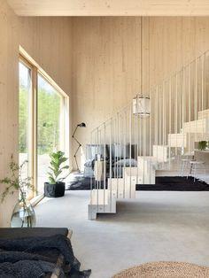 Polished Concrete Tiles, Scandinavian Living, Living Styles, Small Living, Architecture Design, New Homes, Pergola, Interior Design, Home Decor