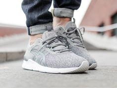 ... online sneaker boutique. Asics Gel-Lyte Runner light grey on foot 2