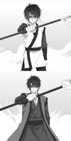 Son Hak , Akatsuki no Yona , yona of the dawm, young & old hak Akatsuki No Yona, Anime Akatsuki, Manga Anime, Anime Art, Anime Sleep, Anime Love, Anime Guys, Shin Ah, Akagami No Shirayukihime