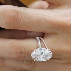 blake lively engagement ring. Love how delicate the band is, how slim the diamond is, and just how unique this is. One of my absolute favorites!